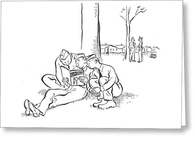 New Yorker August 23rd, 1941 Greeting Card