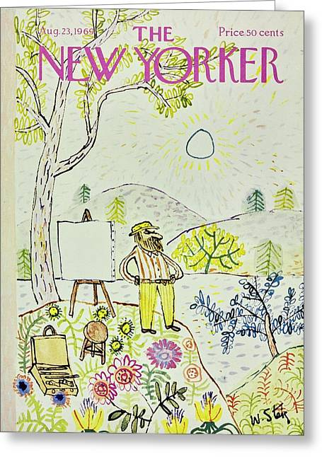 New Yorker August 23rd 1969 Greeting Card