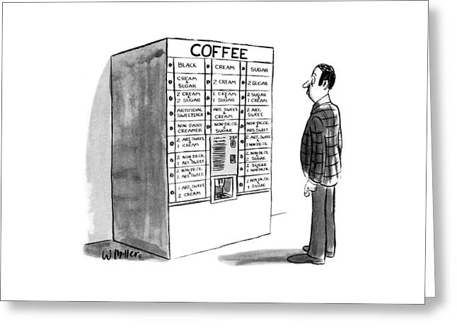 New Yorker August 23rd, 1976 Greeting Card