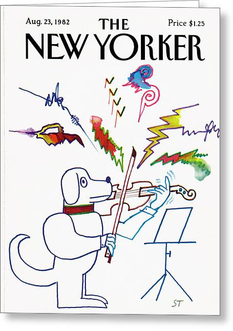 New Yorker August 23rd, 1982 Greeting Card