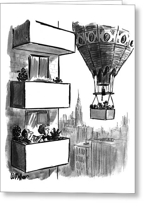 New Yorker August 23rd, 1993 Greeting Card by Warren Miller