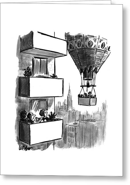 New Yorker August 23rd, 1993 Greeting Card