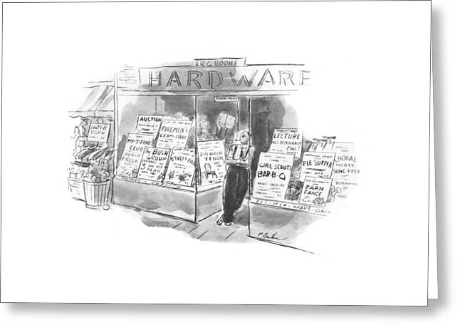 New Yorker August 24th, 1940 Greeting Card