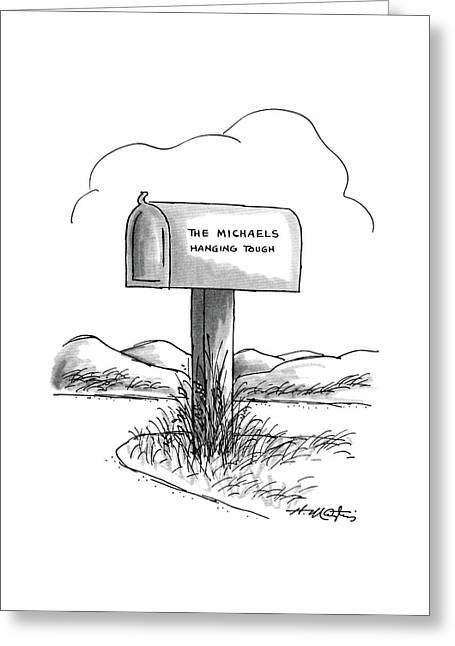 New Yorker August 24th, 1987 Greeting Card