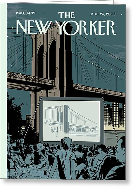 New Yorker August 24th, 2009 Greeting Card