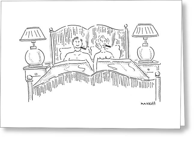 New Yorker August 25th, 1997 Greeting Card