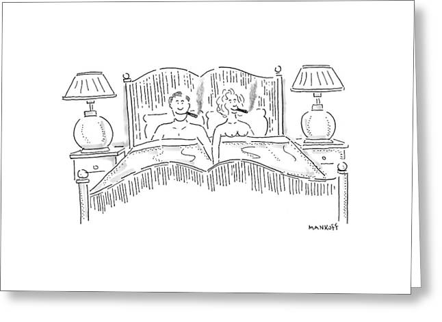 New Yorker August 25th, 1997 Greeting Card by Robert Mankoff