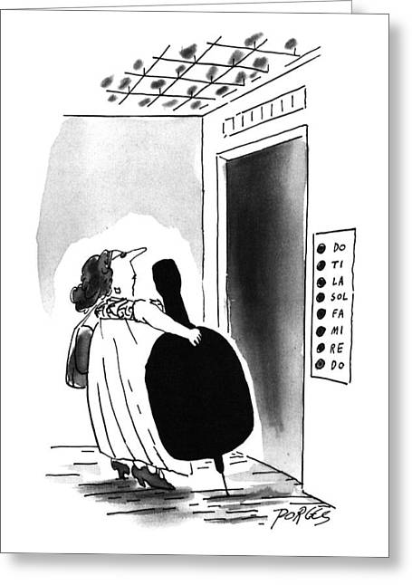 New Yorker August 26th, 1996 Greeting Card