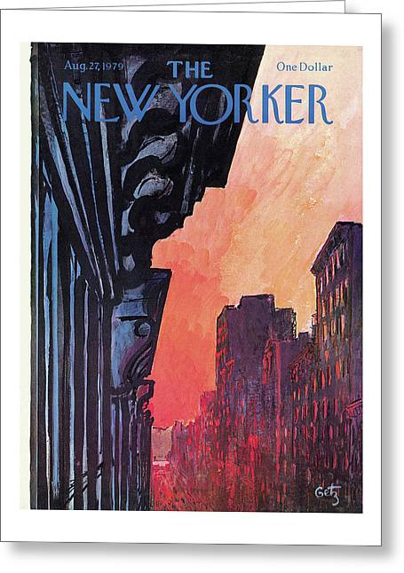 New Yorker August 27th, 1979 Greeting Card