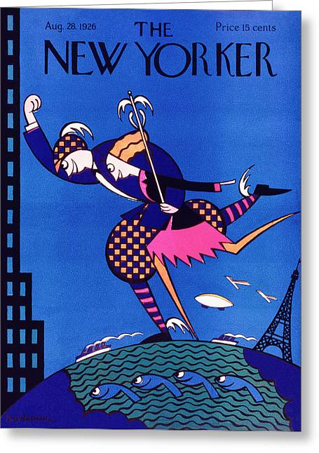 New Yorker August 28 1926 Greeting Card