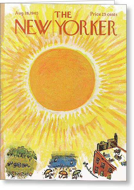 New Yorker August 28th, 1965 Greeting Card