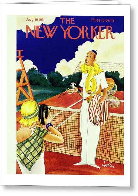 New Yorker August 29 1931 Greeting Card