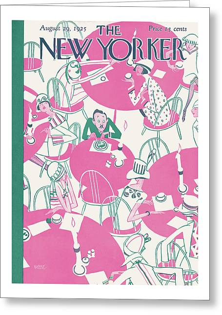New Yorker August 29th, 1925 Greeting Card