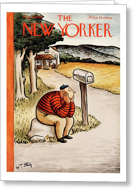 New Yorker August 29th, 1936 Greeting Card