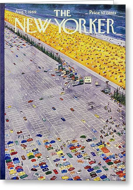 New Yorker August 2nd 1969 Greeting Card