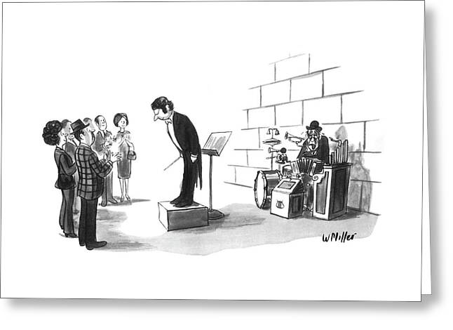 New Yorker August 2nd, 1976 Greeting Card