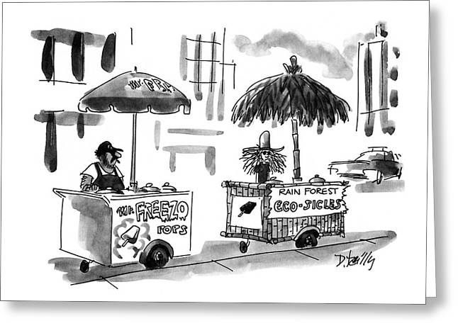 New Yorker August 2nd, 1993 Greeting Card