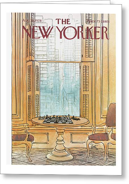New Yorker August 30th, 1976 Greeting Card