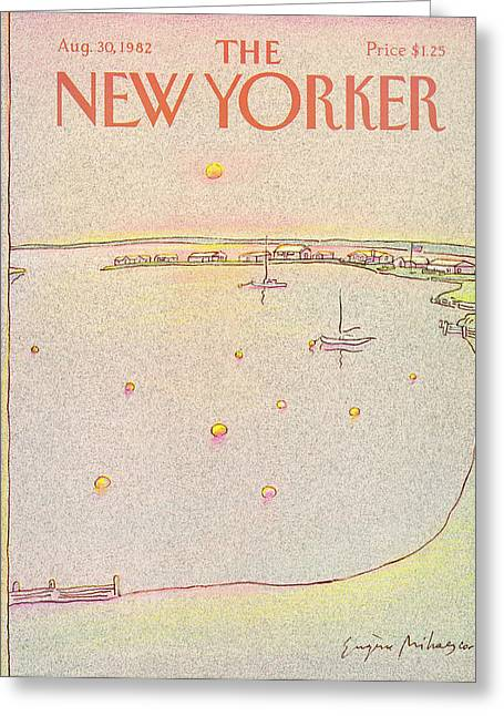 New Yorker August 30th, 1982 Greeting Card