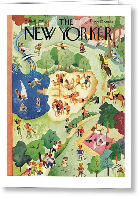 New Yorker August 31, 1946 Greeting Card