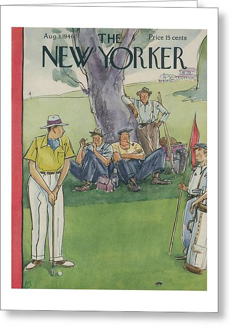 New Yorker August 3rd, 1946 Greeting Card