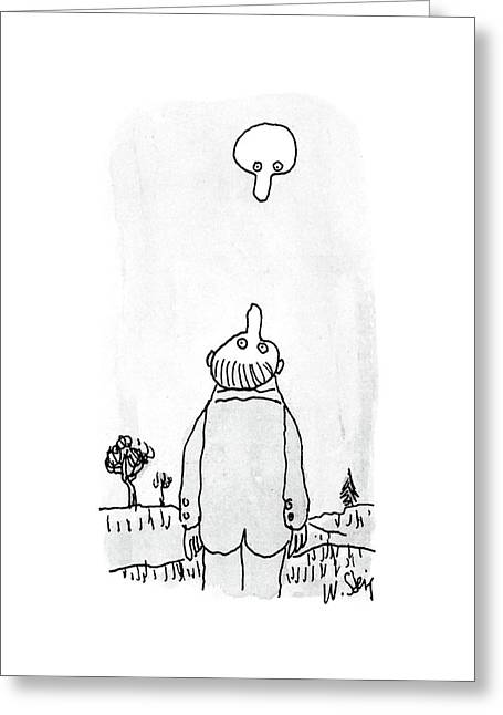 New Yorker August 3rd, 1987 Greeting Card