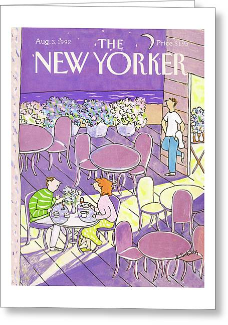 New Yorker August 3rd, 1992 Greeting Card