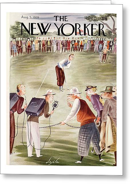 New Yorker August 5th, 1939 Greeting Card