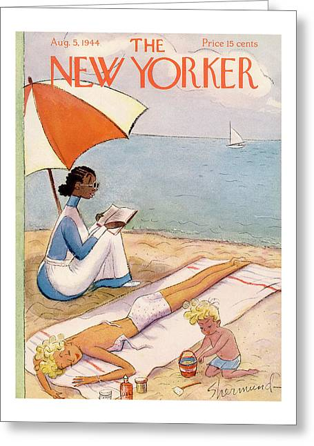 New Yorker August 5th, 1944 Greeting Card