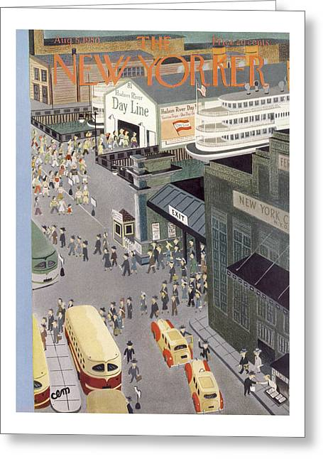 New Yorker August 5th, 1950 Greeting Card