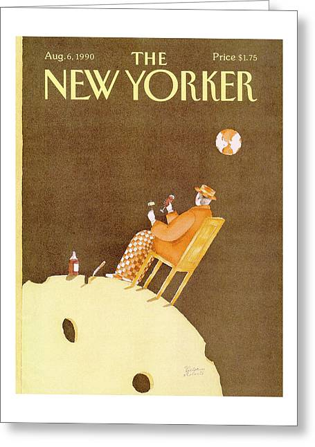 New Yorker August 6th, 1990 Greeting Card