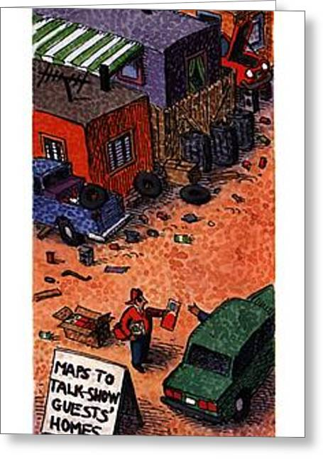 New Yorker August 7th, 1995 Greeting Card by John O'Brie