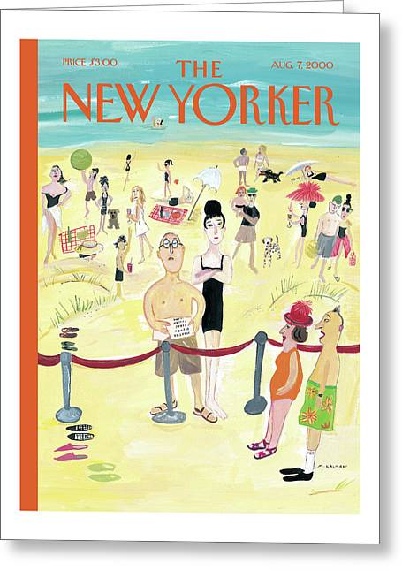 New Yorker August 7th, 2000 Greeting Card