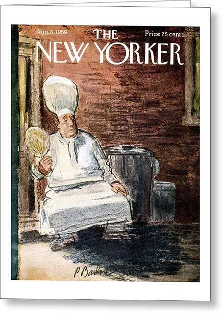 New Yorker August 8th, 1959 Greeting Card