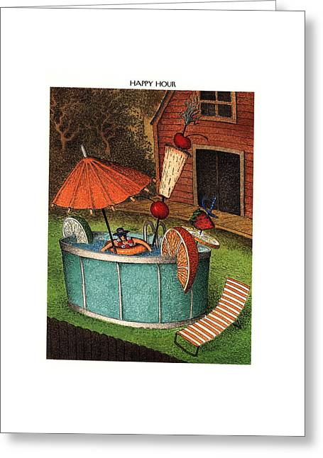 New Yorker August 8th, 1994 Greeting Card by John O'Brien