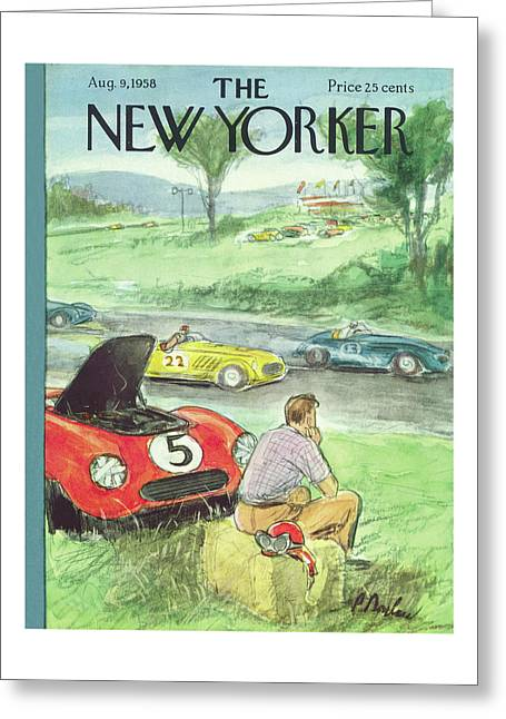 New Yorker August 9th, 1958 Greeting Card