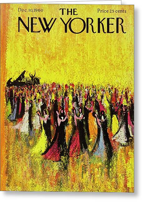New Yorker December 10th 1960 Greeting Card