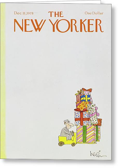 New Yorker December 11th 1978 Greeting Card