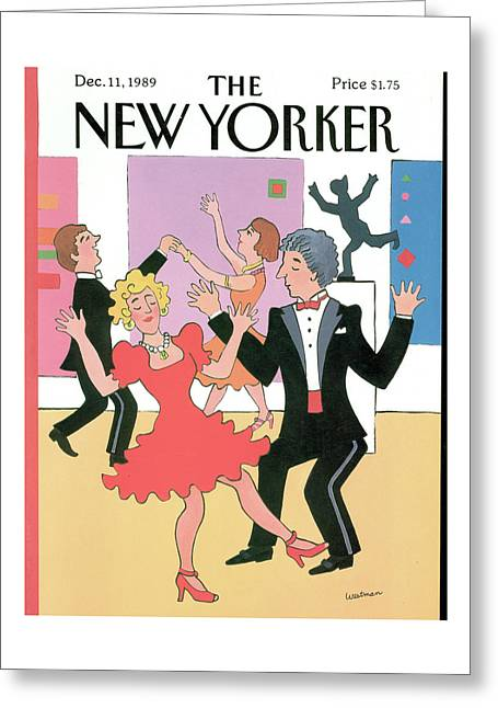 New Yorker December 11th, 1989 Greeting Card