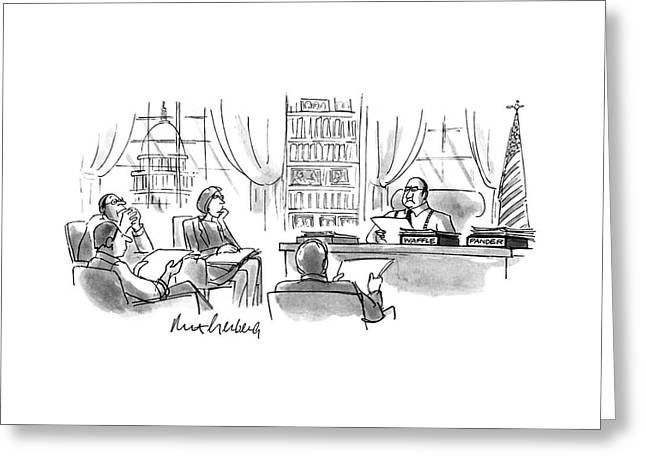 New Yorker December 11th, 1995 Greeting Card