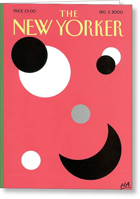 New Yorker December 11th, 2000 Greeting Card
