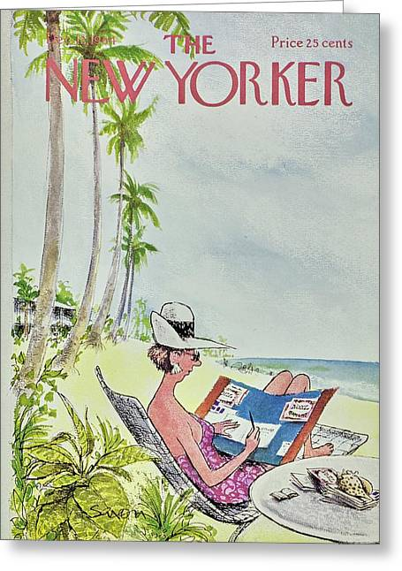 New Yorker December 12th 1964 Greeting Card