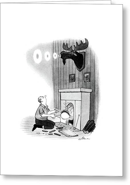 New Yorker December 13th, 1947 Greeting Card