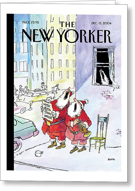 New Yorker December 13th, 2004 Greeting Card
