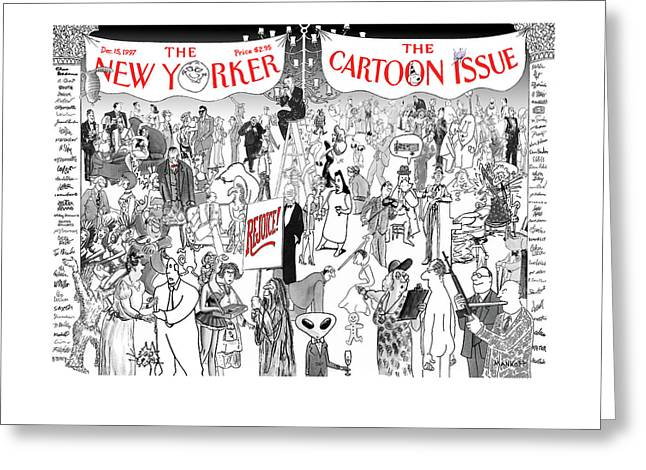 New Yorker December 15th, 1997 Greeting Card