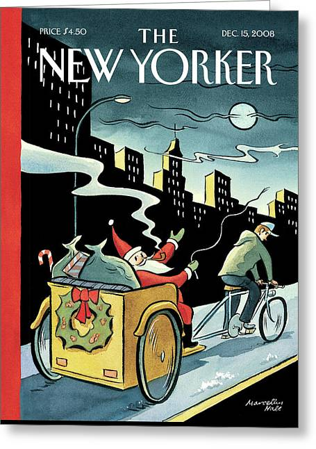 New Yorker December 15, 2008 Greeting Card