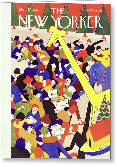 New Yorker December 17 1927 Greeting Card