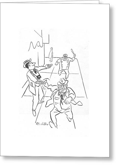New Yorker December 18th, 1943 Greeting Card