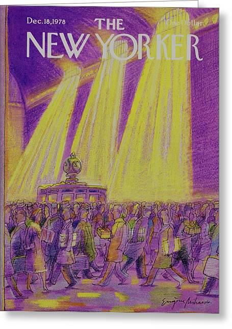 New Yorker December 18th 1978 Greeting Card