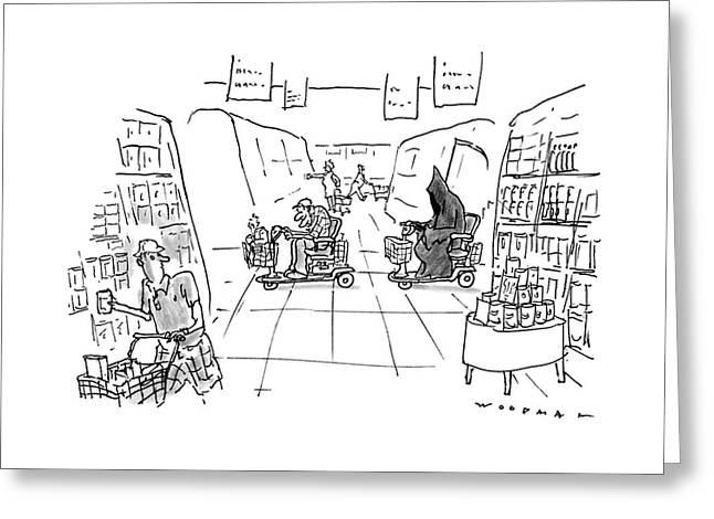New Yorker December 1st, 1997 Greeting Card